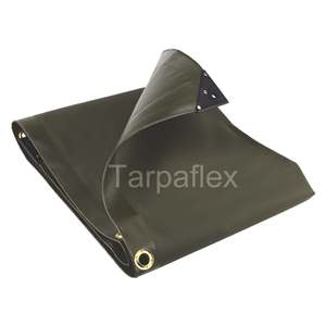 Tarpaulin Heavy Duty Waterproof Strong Cover Ground Sheet Tarp 130GSM GREEN