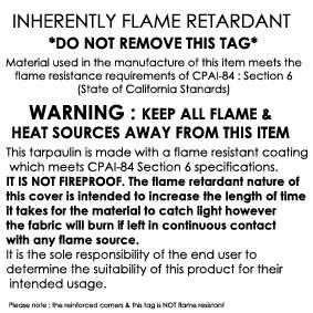 Flame Retardant Tarpaulins Amp Heavy Duty Tarp Sheets Online