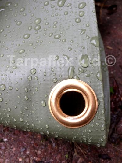 Tarpaulin Heavy Grade Pvc Olive Green Tarp Lorry Side