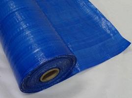 Tarpaulin Roll 110gsm Waterproof Blue Poly Tarp On A Roll